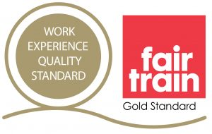 Fair Train work experience logo