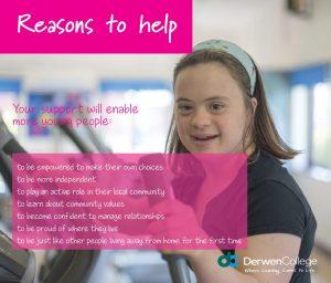 Donate to Derwen College: Reasons to help