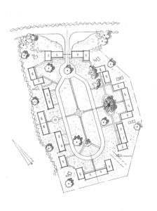 Plans of the bungalow site