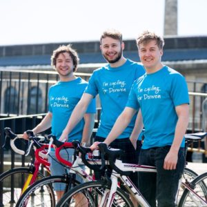The Reliant Robins will cycle from London to Paris to raise money for Derwen College's swimming pool renovations