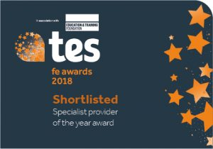 Specialist Provider of the Year nomination