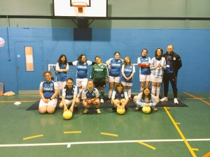 Sport at Derwen College: The Derwen Devas female football team
