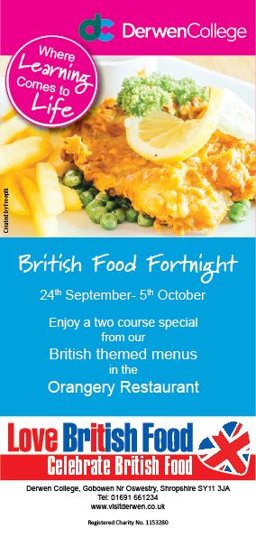British Food Fortnight leaflet