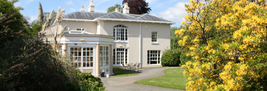 The Orangery Restaurant in summer
