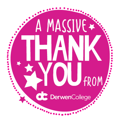 Thank You! Donate to Derwen to help fundraise for the college.