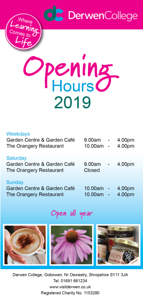 Opening Times 2019
