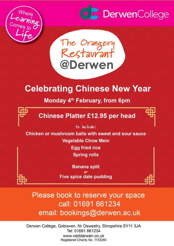 Chinese New Year at Derwen