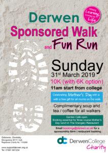 Sponsored walk fun run 2019
