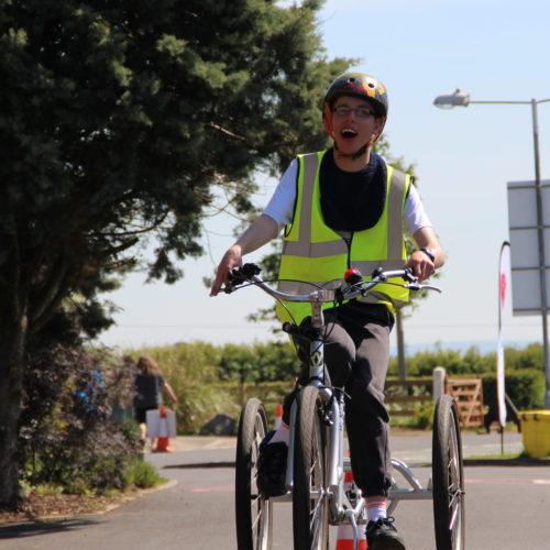 Mack's Challenge to bike around Lake Vyrnwy