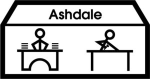Makaton symbol for Ashdale