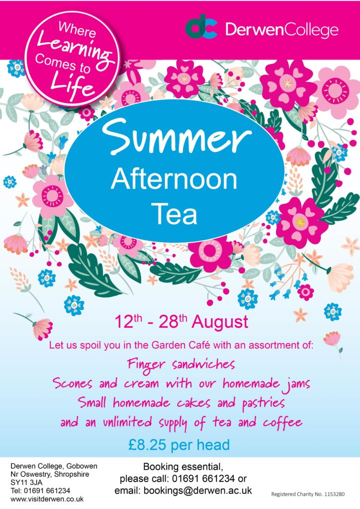 Summer Afternoon Tea poster