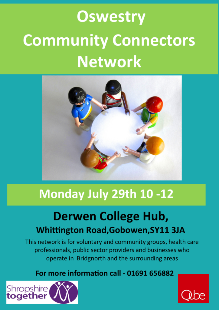 Oswestry Community Connectors Meeting 29 July 2019