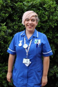 Wellbeing nurse: Aarona Jackson
