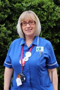 Wellbeing nurse: Kelly Griffiths