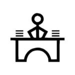 Makaton Symbol for: Work