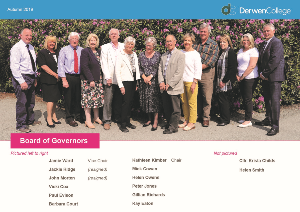 Governors updated August 2019