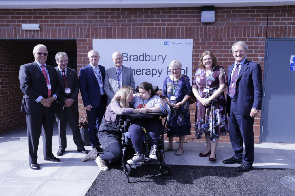 Derwen College Charity - Hydrotherapy Pool Opening 2019