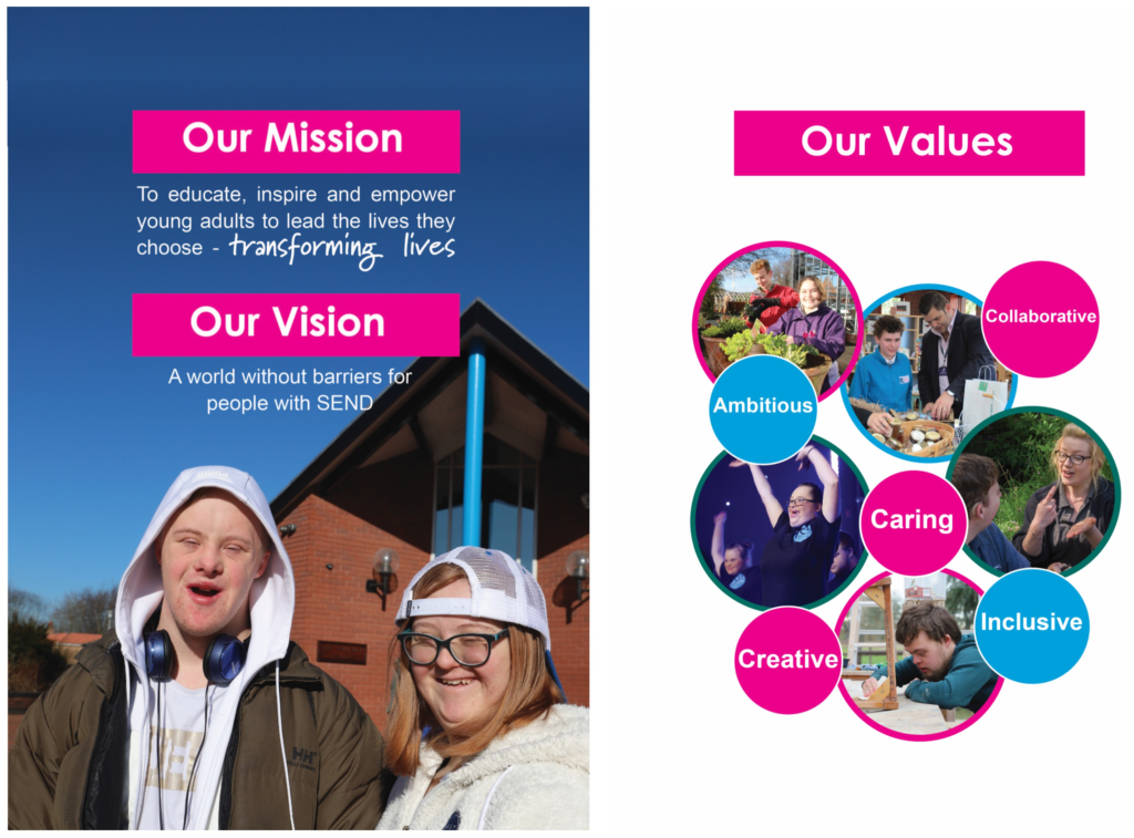 Our Mission, Our Vision, Our Values