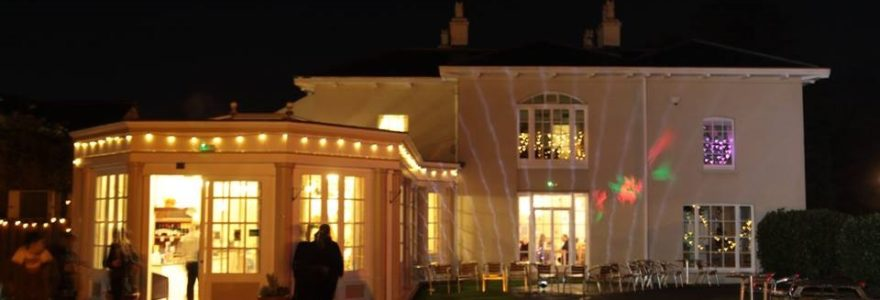 The Orangery at Christmas