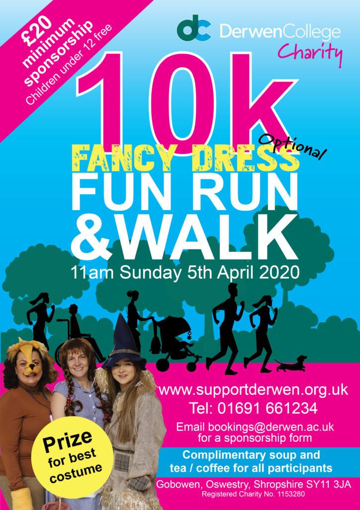 2020 Derwen Sponsored Walk and Fun Run