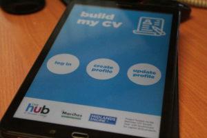 National Careers Week: Build my CV app