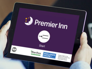 Derwen College Support Work apps Premier Inn app