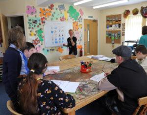Craven Arms classroom