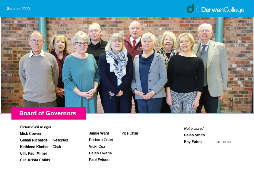 governors at Derwen College