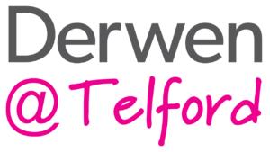 Derwen @Telford logo