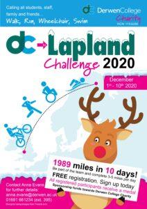 Derwen College to Lapland Challenge