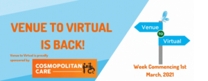 Venue to Virtual event header