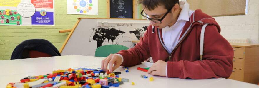 Learning for Life pathway - Lego Therapy