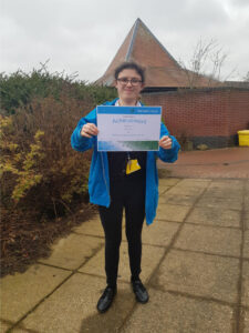 Mary - Retail and Enterprise Student of the Term Award Spring 2021