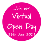 Link to register for our Virtual Open Day June 26th 2021