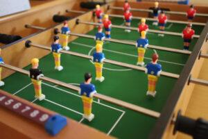 Activities at Short Breaks: Table football
