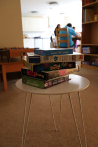 Watch DVDs in the lounge at Short Breaks