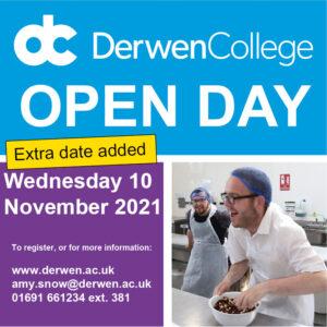 Derwen College Open Day November 2021